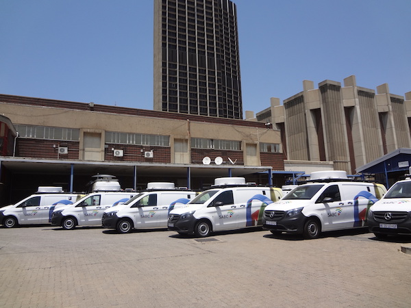 How SABC News' OB units prepared for broadcast during Covid-19