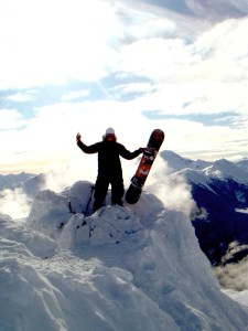 Beaux Foy Snowboarding in Whistler, BC