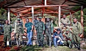 Beaux Foy at Dian Fossey International Gorilla Fund, Bisate, Rwanda Africa