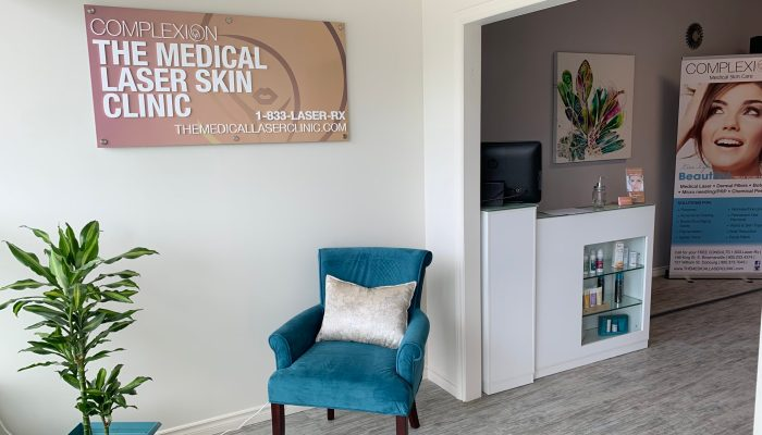 Complexion Port Hope Medical Spa Waiting Area 2