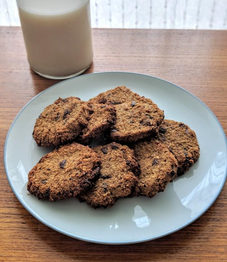 Almond pulp cookies