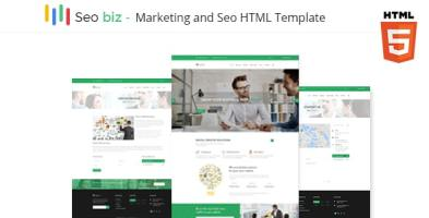 Seobiz – Marketing & Seo Business Template