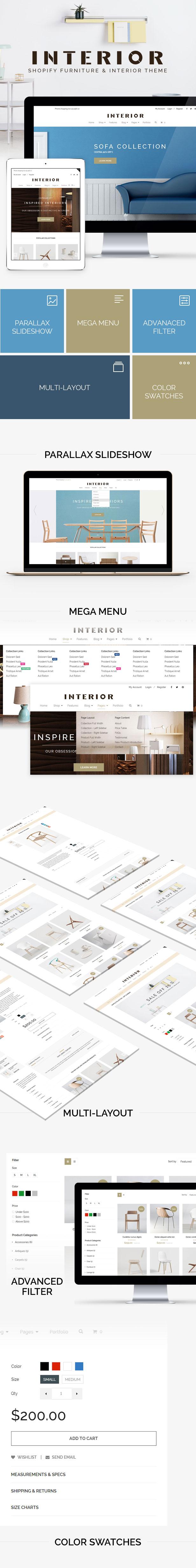 Minimalist Interior & Furniture Shopify Theme