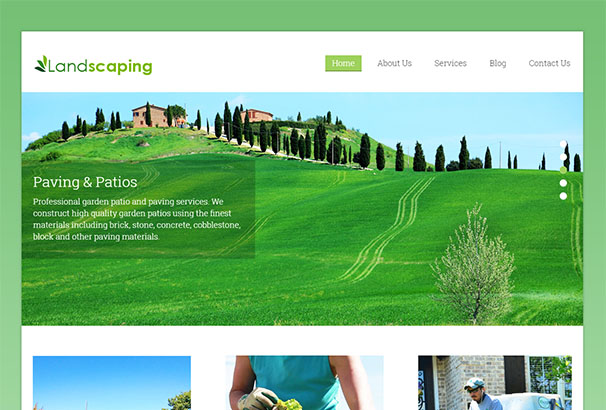 Ink Themes 3 Landscaping