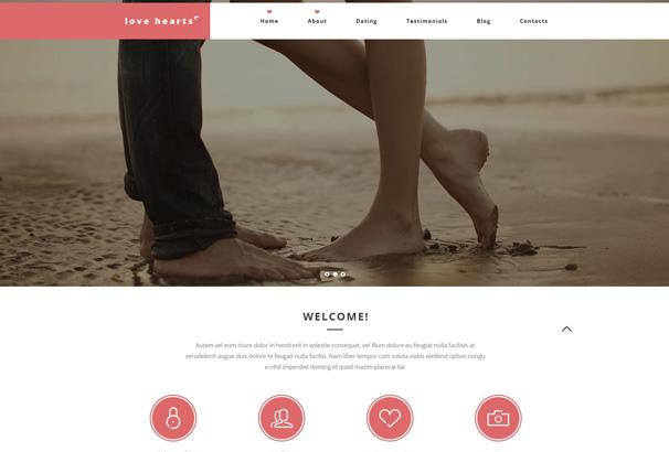 dating blog wordpress theme