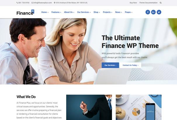 Financial Advisor Website Templates. financial advisor responsive ...