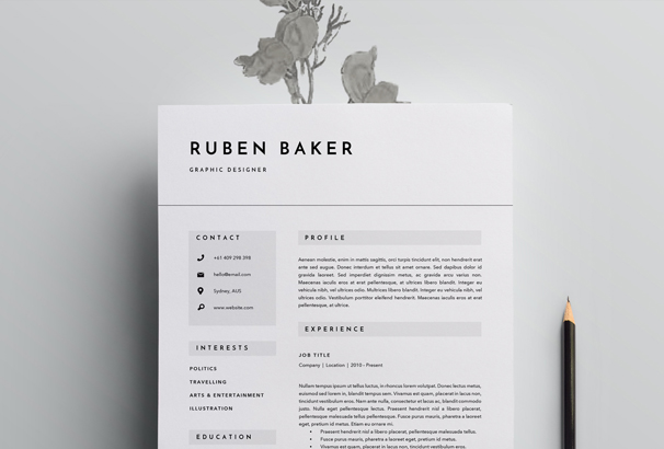 Resume Resume And Resume Templates  3 Page Resume
