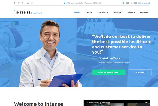 intense-dental-clinic-website-template