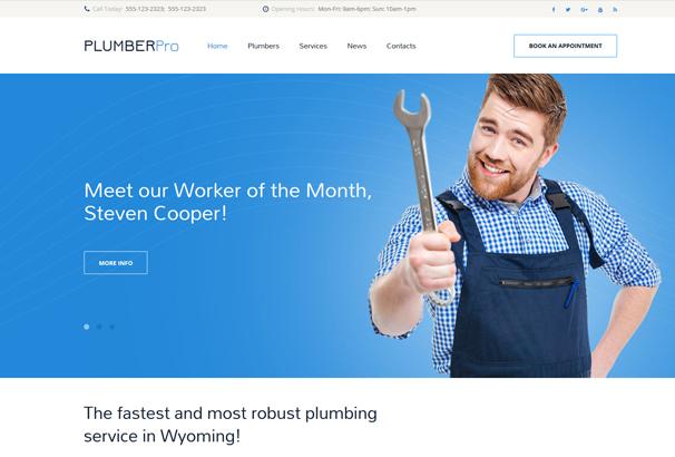 plumberpro-website-template