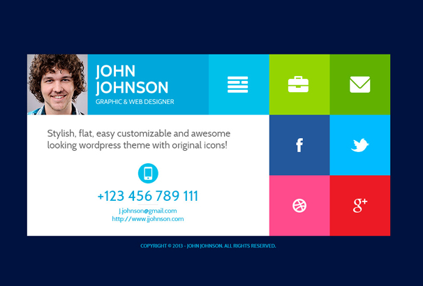 resume website example