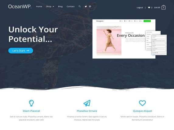 OceanWP- Best free WorPress themes 2021