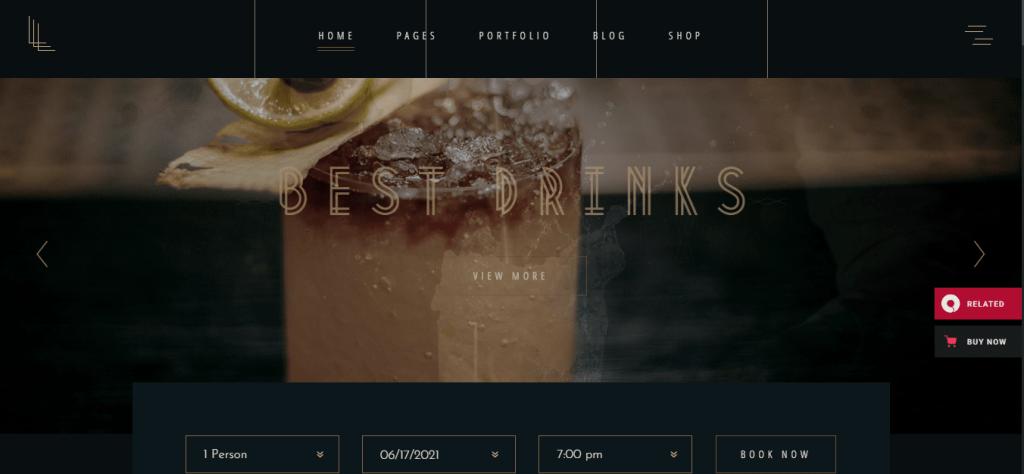 Laurent- best-restaurant-WordPress-themes-for-restaurant-cafe