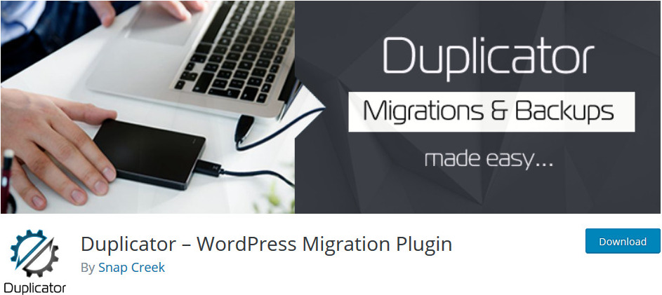 duplicator wordpress migration plugins