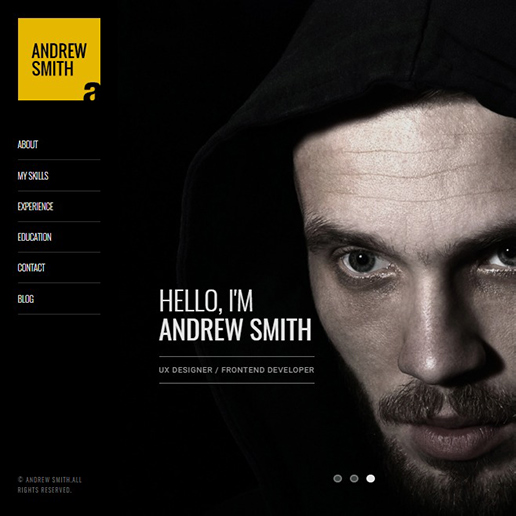 15+ Best WordPress Resume themes for Professional resumes and CVs 7
