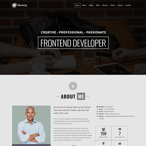 15+ Best WordPress Resume themes for Professional resumes and CVs 9