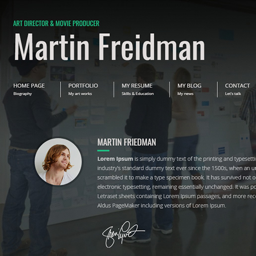 15+ Best WordPress Resume themes for Professional resumes and CVs 5