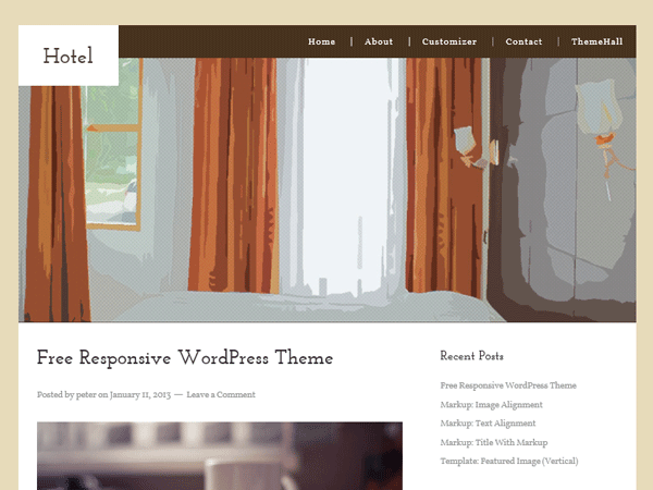hotel-wordpress-theme