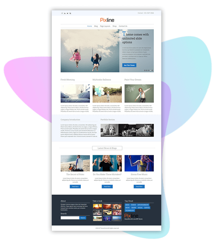 template-demo-page-one-click-pixline-all-in-one-business