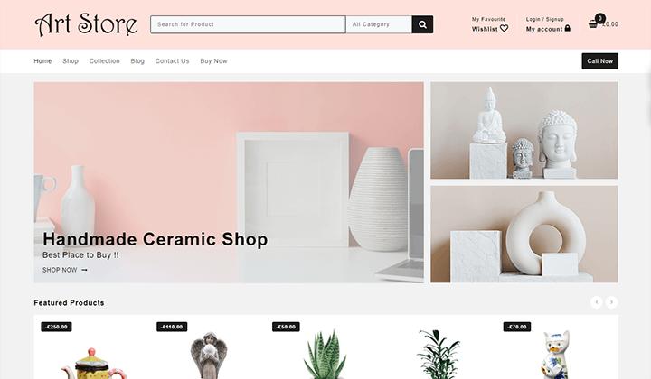 art-store-template