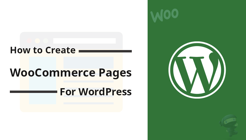 How to create WooCommerce pages