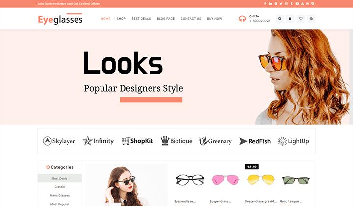 Eyeglasses Store