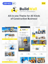 BuildWall Construction WordPress Theme
