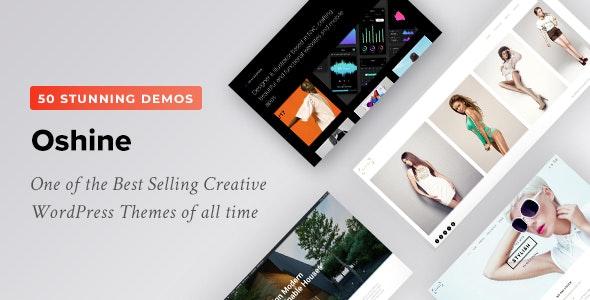 Best selling creative WordPress theme