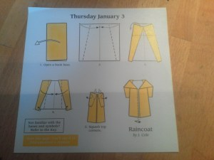 Raincoat (Instructions)
