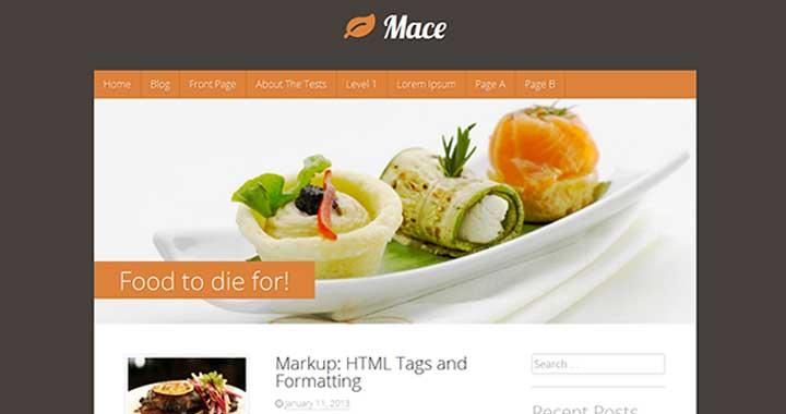 mace Free Theme