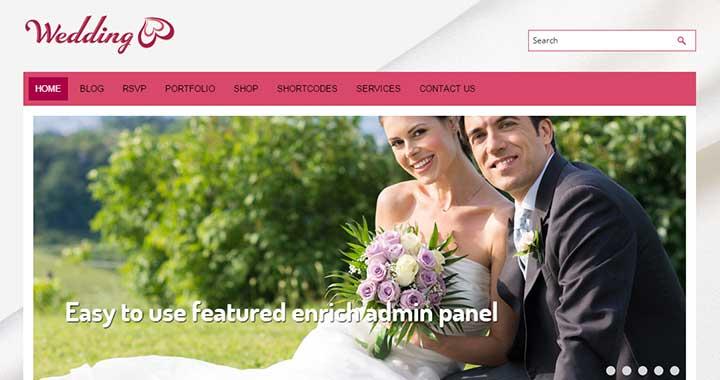 Free Wedding WordPress themes