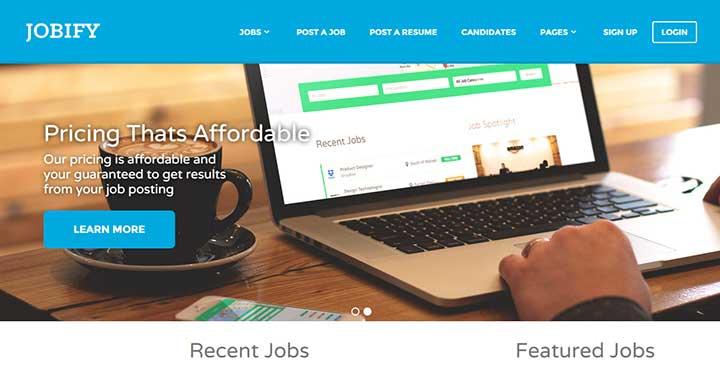 Jobify Job Template
