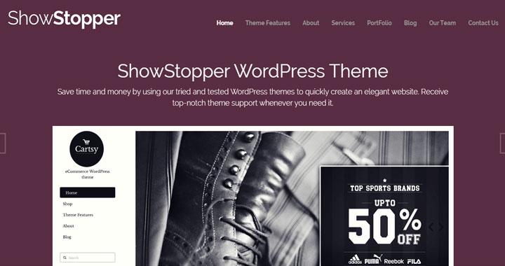 ShowStopper trending news magazine theme
