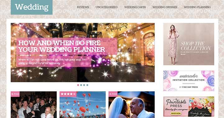Spike Wedding WordPress Template