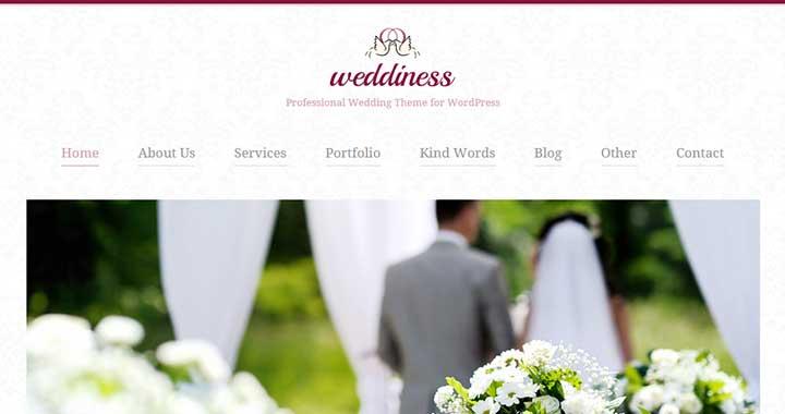 Weddiness Best Wedding WordPress Themes