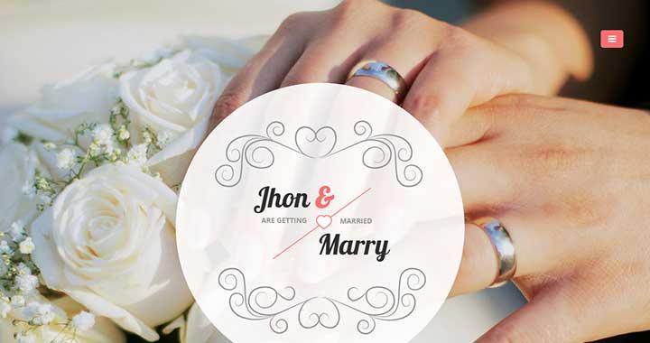 Wedding Day Wedding WordPress Theme