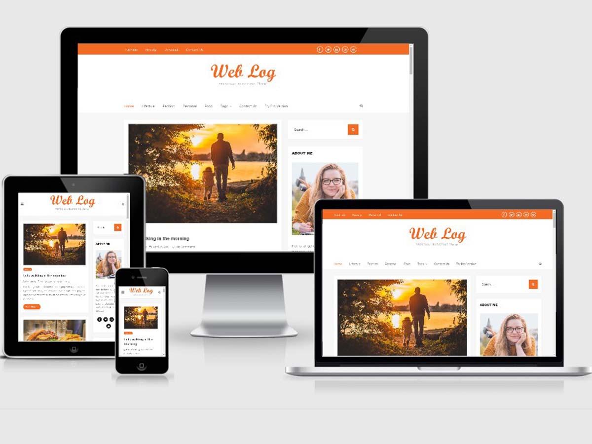 web-log-responsive