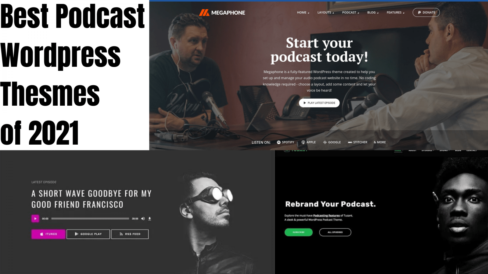 10 Best Podcast WordPress Themes Of 2021