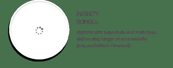 Infinity scroll