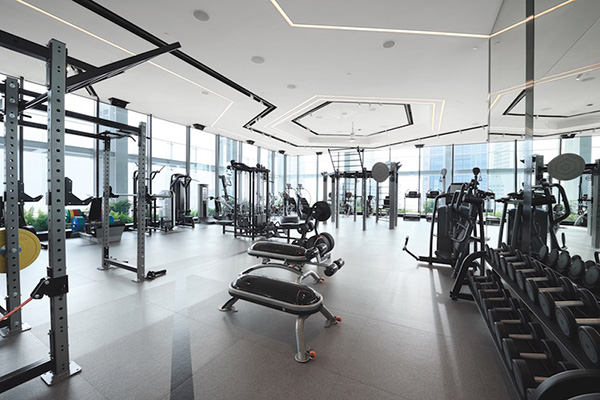 Twitter's corporate gym