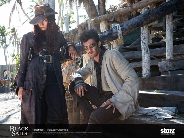 Anne Bonny and Jack Rackham, their on-screen chemistry is a joy to watch!