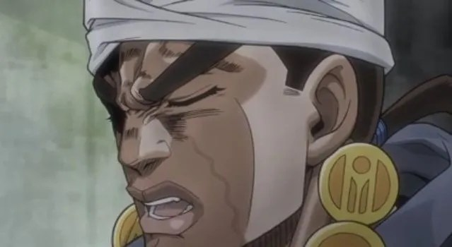 Avdol and Speedwagon will never shut up!
