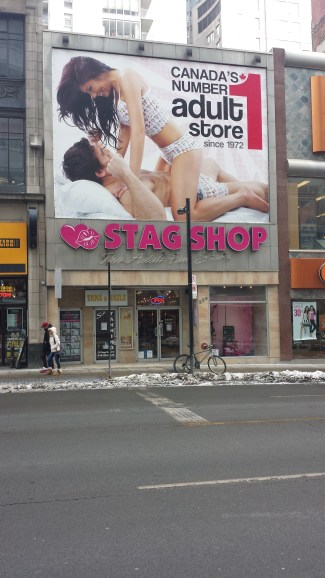The Stag Shop stands proud in Downtown Toronto