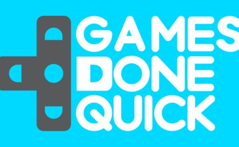 Awesome Games Done Quick 2016 is Live!