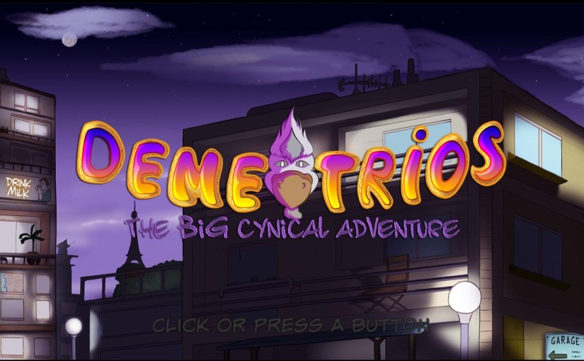 Review: Demetrios – The BIG Cynical Adventure
