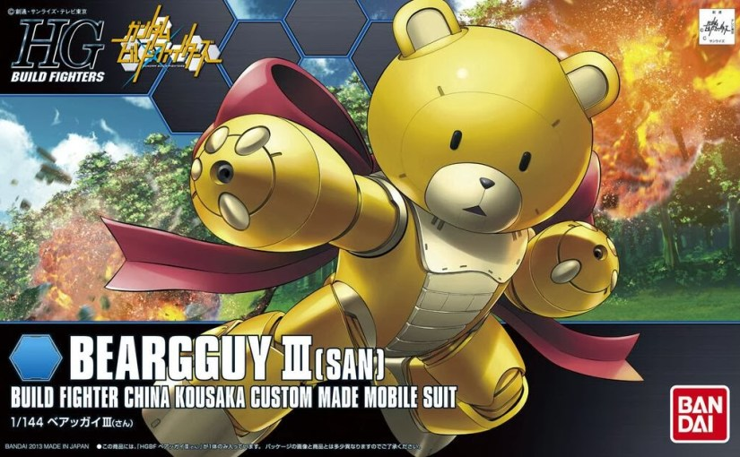 Custom Gunpla – Beargguy III GeekOut Ver.