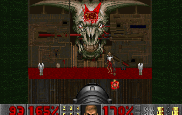 Doom 2 - Map 30 - Icon of Sin