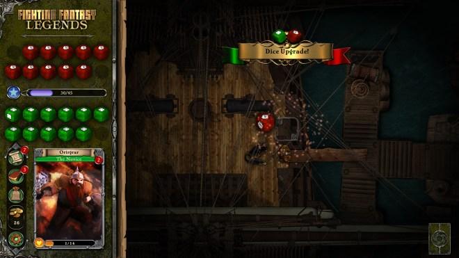 Fighting Fantasy Legends - Upgrades