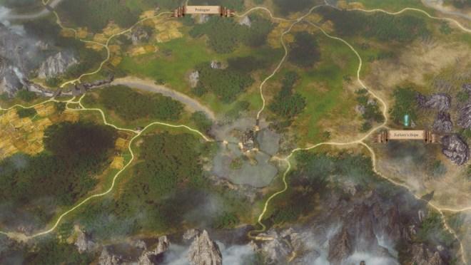Spellforce 3 - World Map