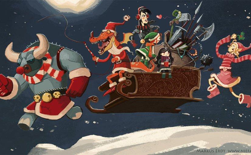Dungeons & Dragons Christmas Binge