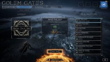 Golem Gates - Challenges